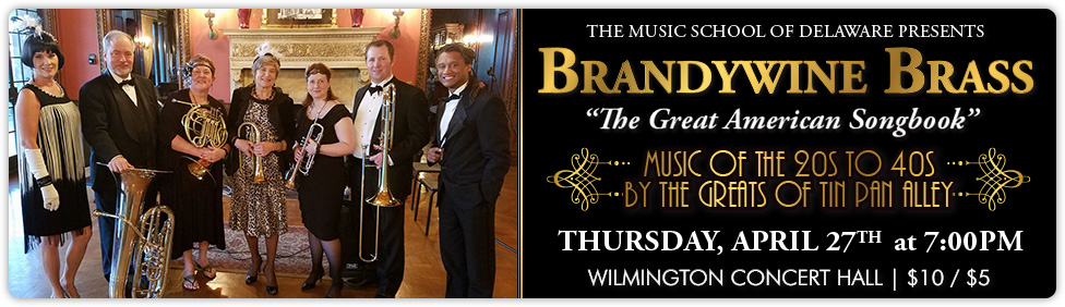 Join us for a Brandywine Brass concert on April 27th!
